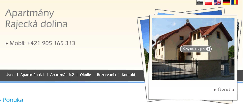 f2dea6b43 Apartmány Rajecká dolina - ubytovanie v Rajecke doline